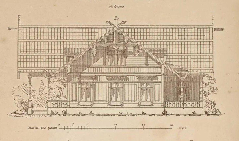 Проекты дачных домов России 19-го века
