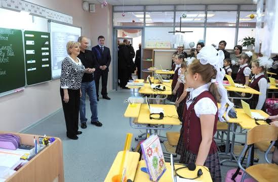 Путин в школе Базарного