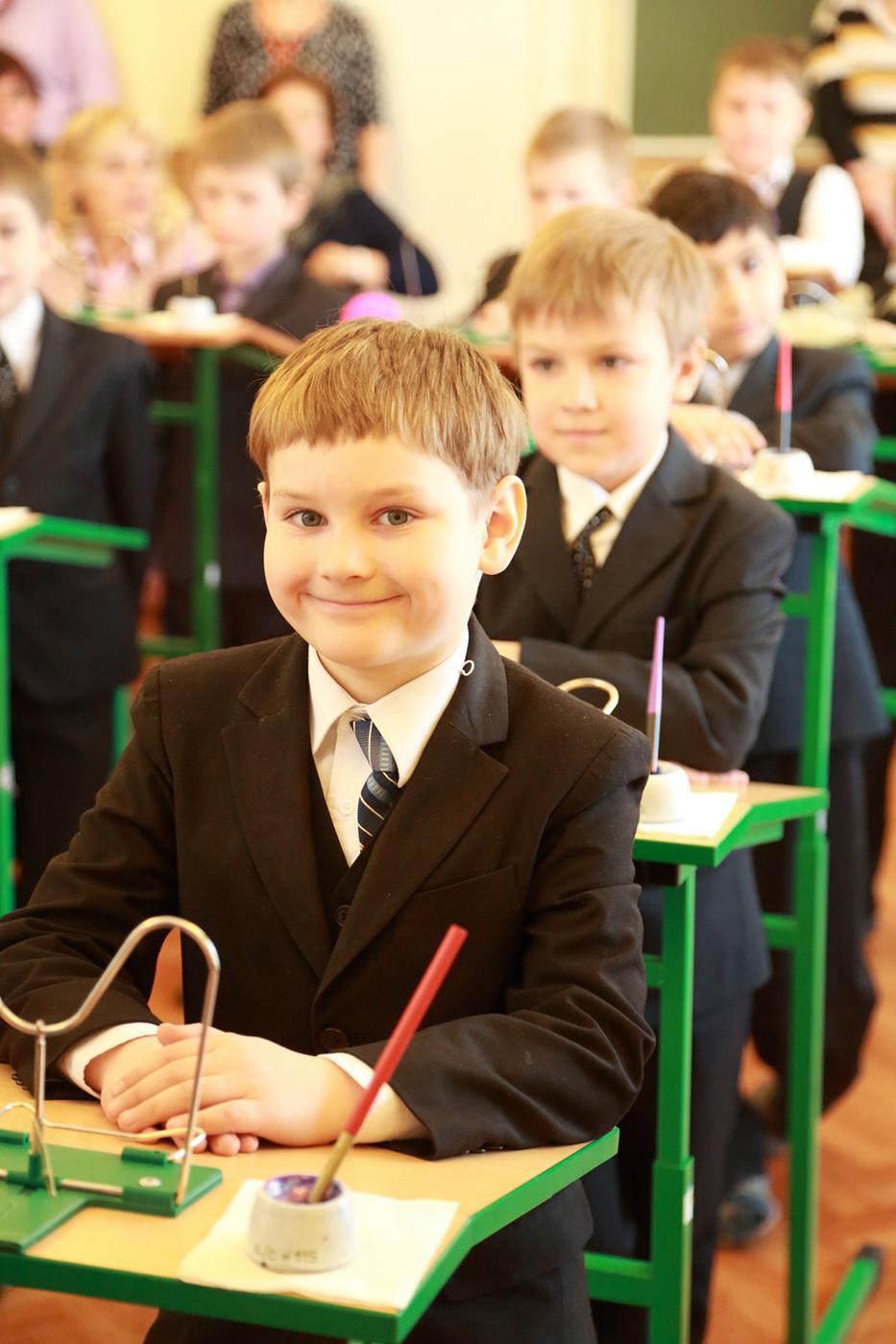 Класс мальчиков в школе №115 г. Ярославль