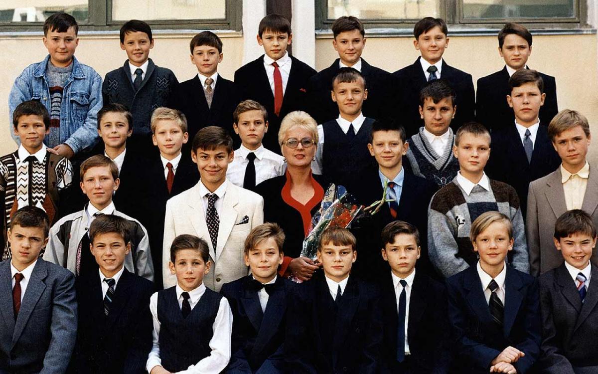 Дубровская Е.Н. и один из классов МБОУ Лицей 103 «Гармония»